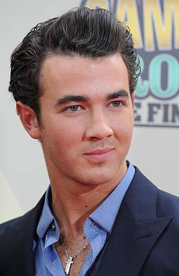 Bestofredcarpet Photograph - Kevin Jonas At Arrivals For Camp Rock 2 by Everett