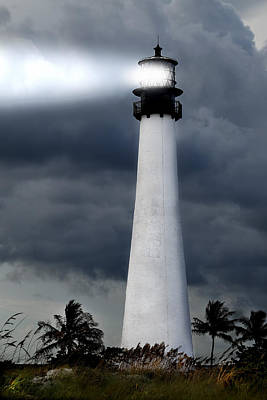 Key Biscayne Lighthouse Art Print