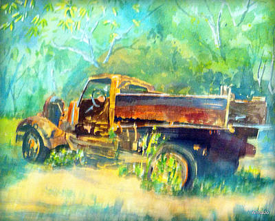 Painting - Key Truck by AnnaJo Vahle