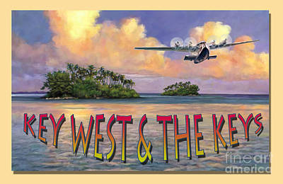 Painting - Key West Air Force by David  Van Hulst