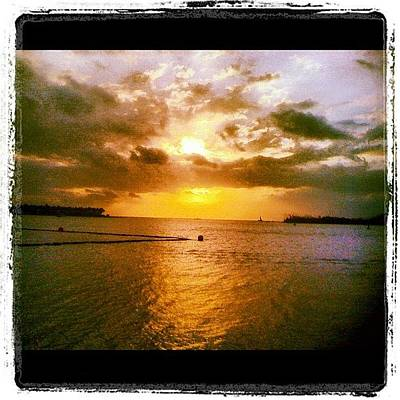 Sunset Wall Art - Photograph - Key West by Bill Cannon