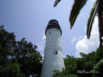 Photograph - Key West Lighthouse by Mike Fitzgerald