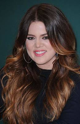 Khloe Kardashian At In-store Appearance Art Print by Everett