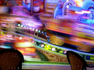 Photograph - Kiddie Ride by Christine Burdine