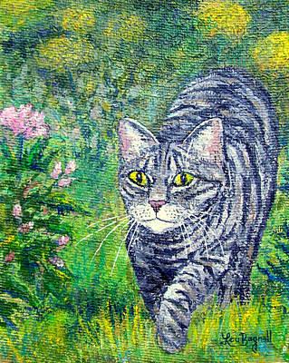 Painting - Kiki Mow Mow by Lou Ann Bagnall