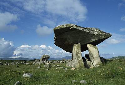 Kilclooney, Co Donegal, Ireland Dolmen Art Print by The Irish Image Collection