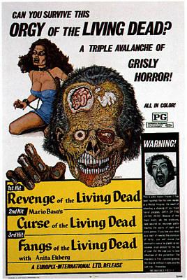 Horror Movies Photograph - Kill Baby, Kill, Aka Operazione Paura by Everett