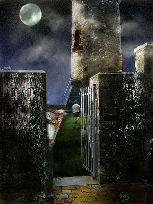 Digital Art - Killala Tower by Amy Williams