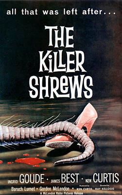 Killer Shrews, The, 1959 Print by Everett
