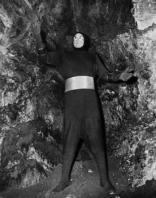 Killers From Space, 1953. John Merrick As Deneb From The Planet Astron Delta. Film Still, 1953 Art Print