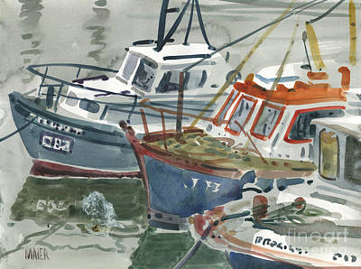 Painting - Kilmore Boats by Donald Maier