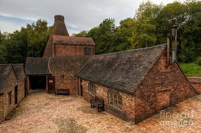 Kiln Photograph - Kiln Courtyard by Adrian Evans