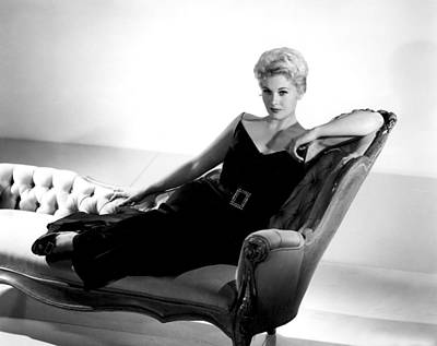 Kim Novak, Columbia Pictures, 1950s Art Print by Everett