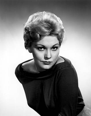 1950s Fashion Photograph - Kim Novak, Columbia Pictures, 1956 by Everett