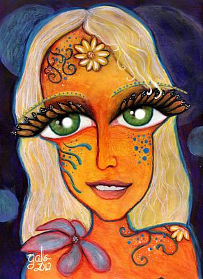 Kimberly Monarch Fairy Art Print