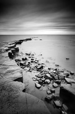 Gb Photograph - Kimmeridge Bay by Nina Papiorek
