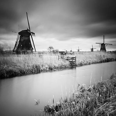 Kinderdijk 01 Art Print by Nina Papiorek