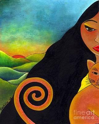 Kindred Spirits Painting - Kindred Spirits by Mucha Kachidza