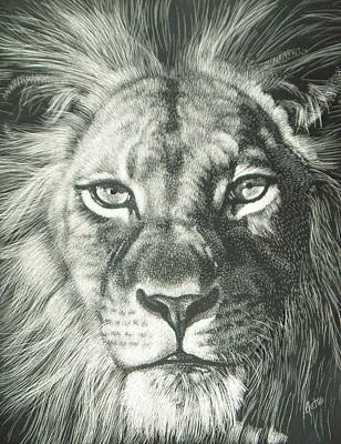 King 2 Art Print by Joanna Gates