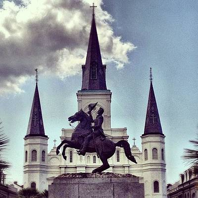 New Orleans Wall Art - Photograph - King Andrew by Dave Bloom