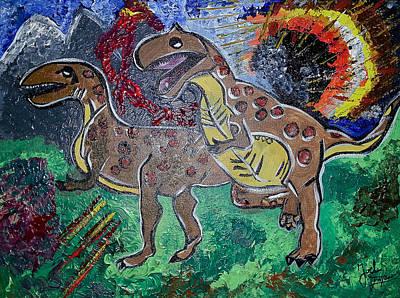 King Di-nojoel Art Print