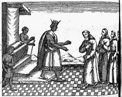 King Dom Garcia II Art Print by Granger