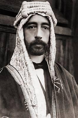 King Faisal Faysal Of Iraq 1885�33 Art Print by Everett