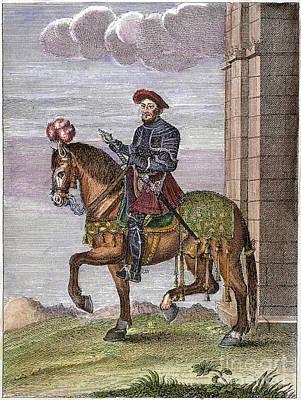 King Francis I (1494-1547) Art Print by Granger