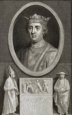 Thomas Becket Photograph - King Henry II Of England by Middle Temple Library