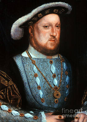 Photograph - King Henry Viii, 1536 by Granger