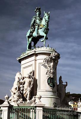 Lisbon Photograph - King Jose Color by John Rizzuto