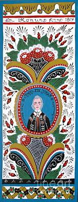 King Karl Johan Of Sweden Art Print by Leif Sodergren