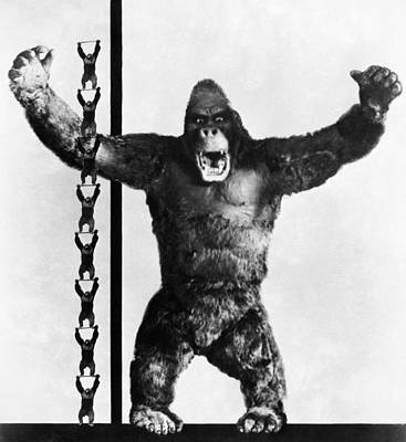 Photograph - King Kong, 1933 by Granger