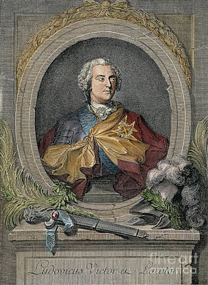 Louis Xv Photograph - King Louis Xv Of France by Granger