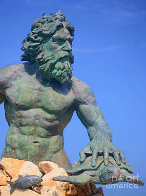 King Neptune Art Print by Shirley  Taylor