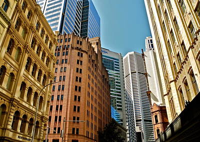 Photograph - King Street Buildings In Sydney by Kirsten Giving