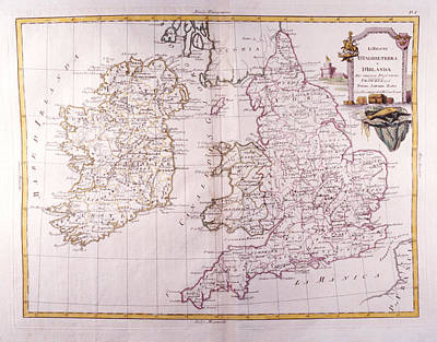 Kingdom Of England And Ireland Art Print by Fototeca Storica Nazionale