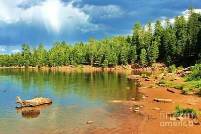 Photograph - Kings Canyon Lake  by Julie Lueders