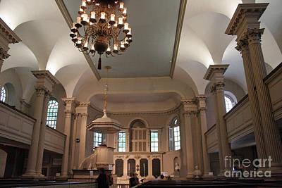 Photograph - Kings Chapel 2 by Morgan Wright