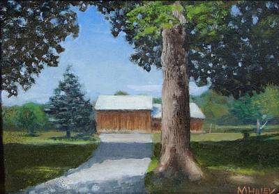 Painting - Kingsbury Farm by Mark Haley