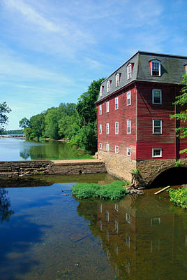 Millstone River Photograph - Kingston Mill by Steven Richman