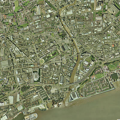 Kingston Upon Hull, Uk Print by Getmapping Plc