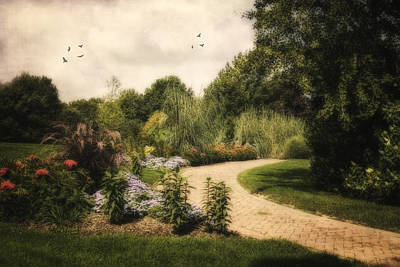 Kingwood Garden Path Original by Mary Timman