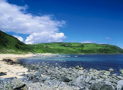 Kinnagoe Bay, Inishowen, Co Donegal Art Print by The Irish Image Collection