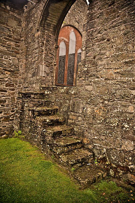 Stained Glass Ireland Photograph - Kinsale Ireland Church by Patrick  Flynn