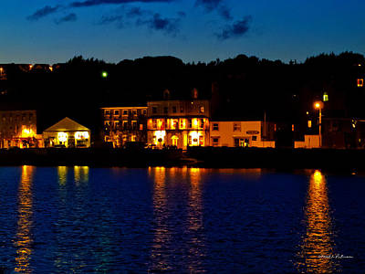 Photograph - Kinsale Night by Edward Peterson