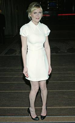 Jay Z Photograph - Kirsten Dunst Wearing A Miu Miu Dress by Everett