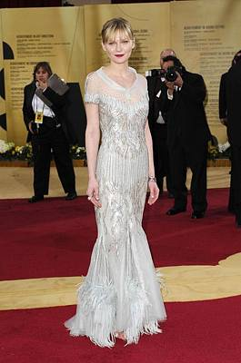 Kirsten Dunst Wearing Chanel Haute Art Print by Everett