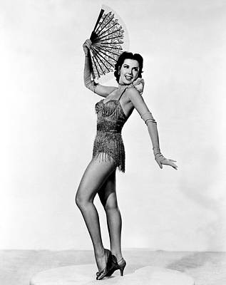 1953 Movies Photograph - Kiss Me Kate, Ann Miller, 1953 by Everett