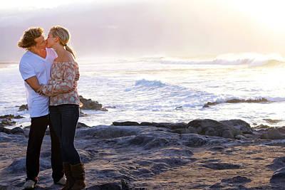 Kissed By The Ocean Art Print by Dawn Eshelman